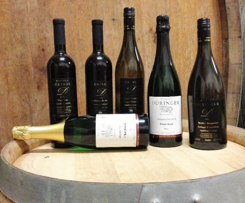 Produkte vom Weingut Düringer aus Ihringen am Kaiserstuhl